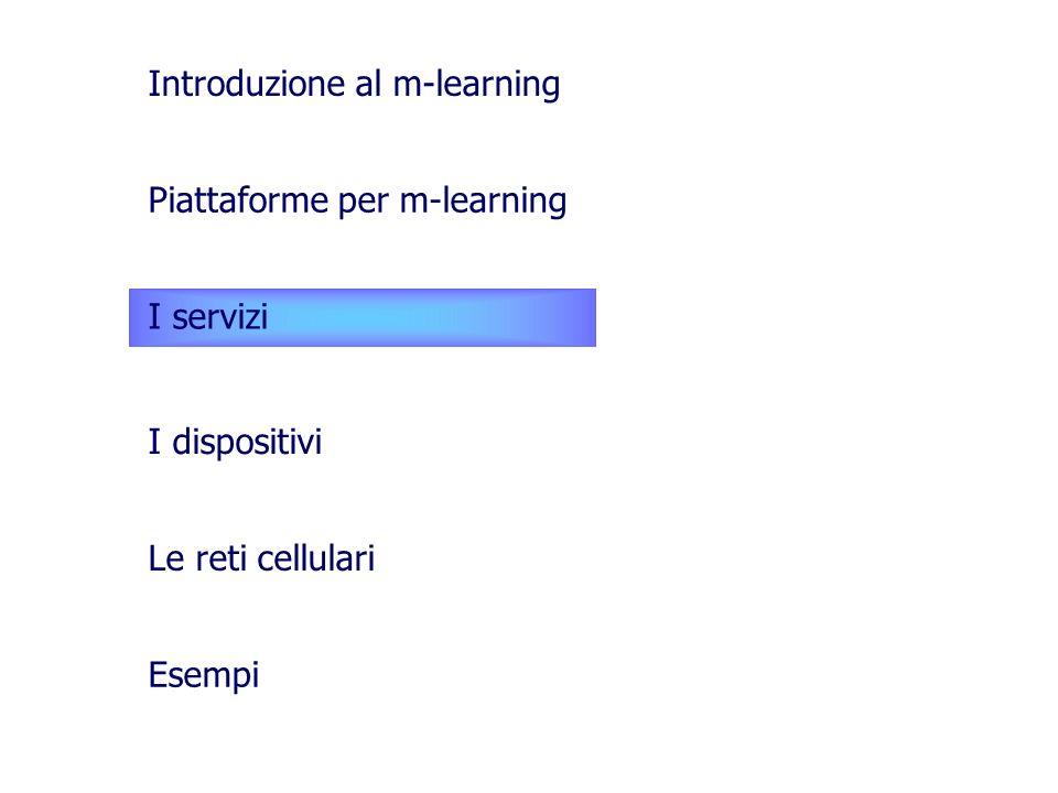 Introduzione al m-learning