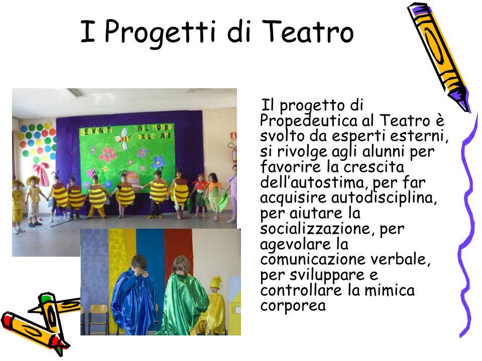 I Progetti di Teatro