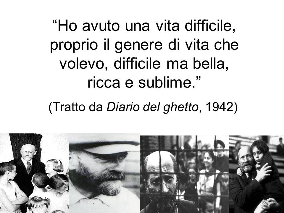 (Tratto da Diario del ghetto, 1942)