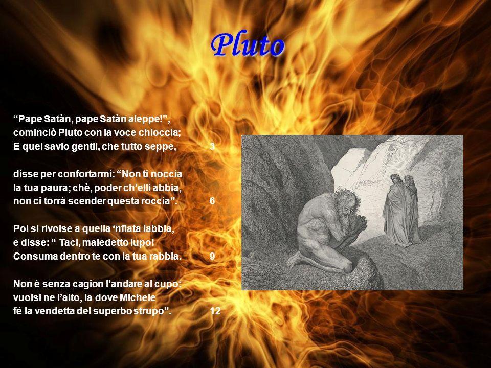 Pluto Pape Satàn, pape Satàn aleppe! ,
