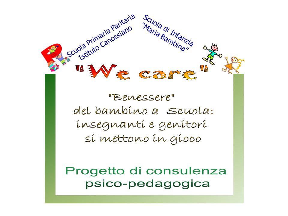 Progetto di consulenza psico-pedagogica