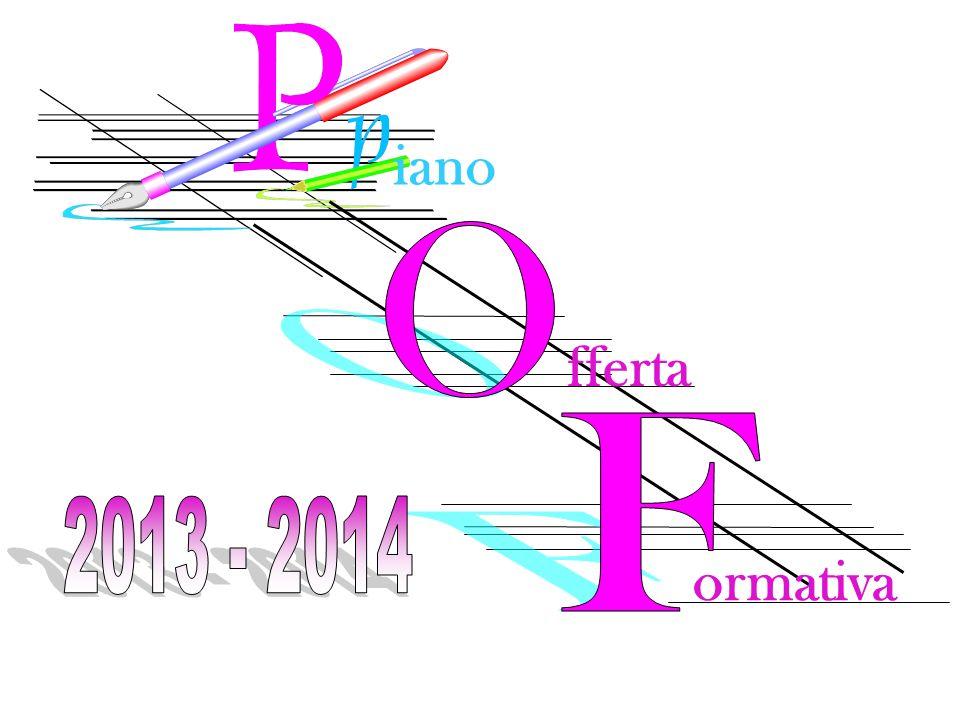 iano O fferta F 2013 - 2014 ormativa