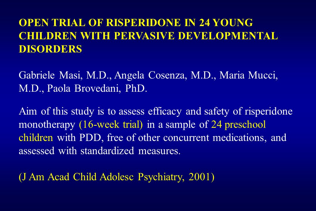 Pervasive Developmental Disorder – Not Otherwise Specified (PDD- NOS)