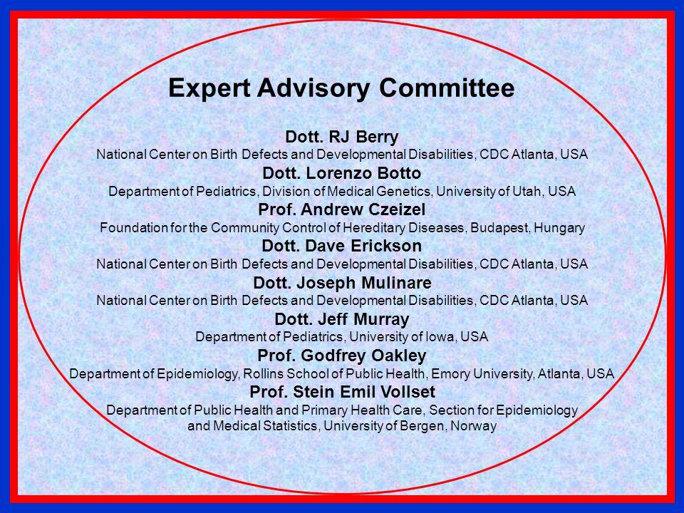 Expert Advisory Committee Prof. Stein Emil Vollset