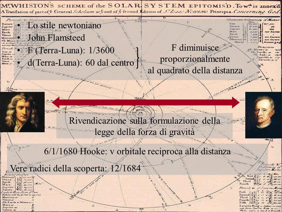 d(Terra-Luna): 60 dal centro F diminuisce proporzionalmente