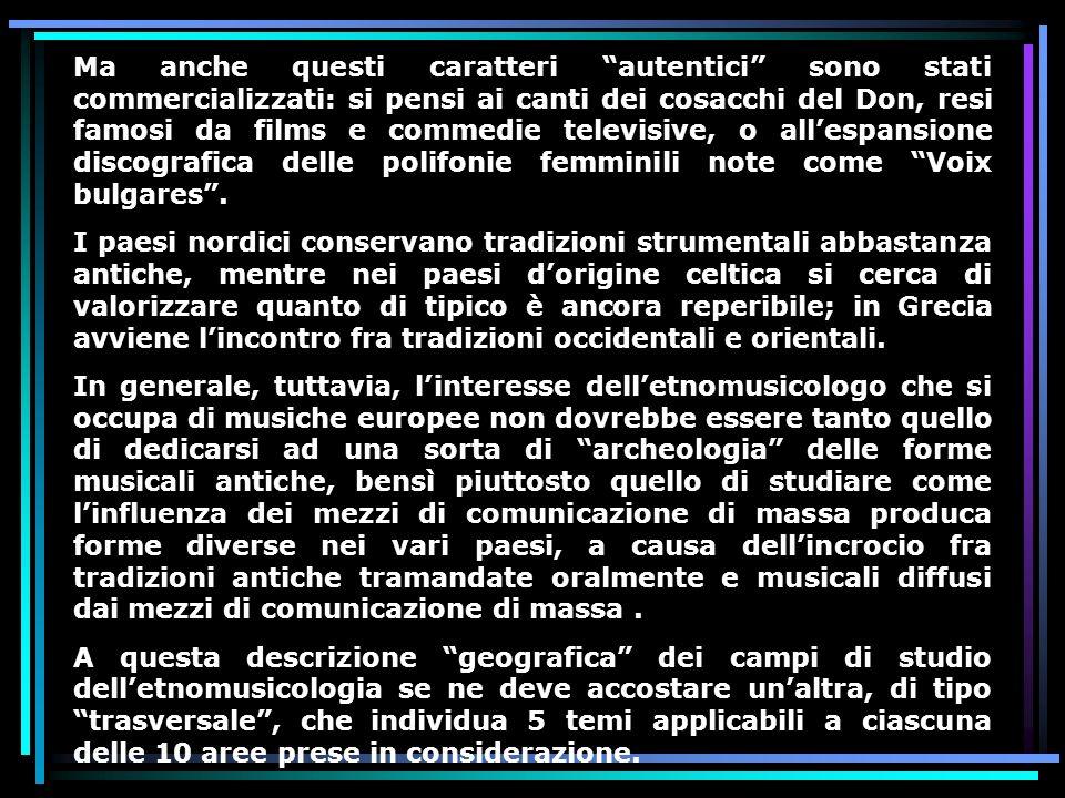 Corso di antropologia della musica lezione 9 ppt scaricare for All origine arredi autentici