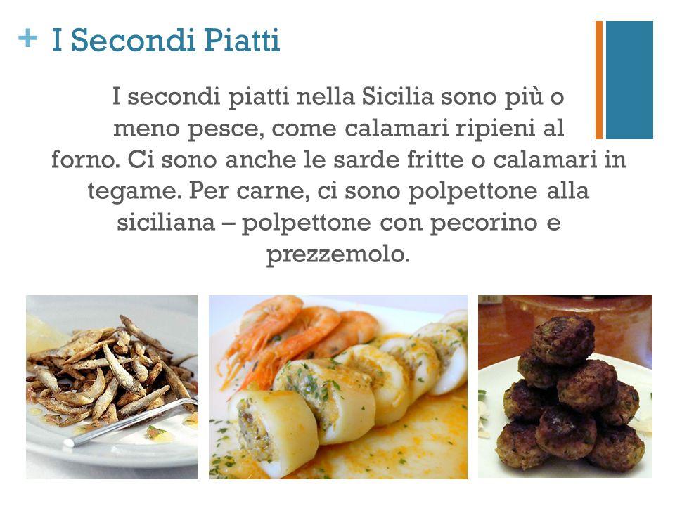 I Secondi Piatti