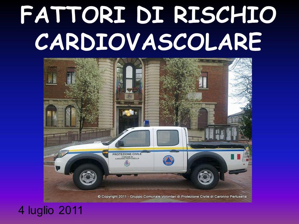 FATTORI DI RISCHIO CARDIOVASCOLARE