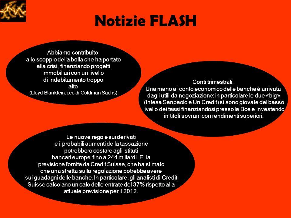 Notizie FLASH Abbiamo contribuito