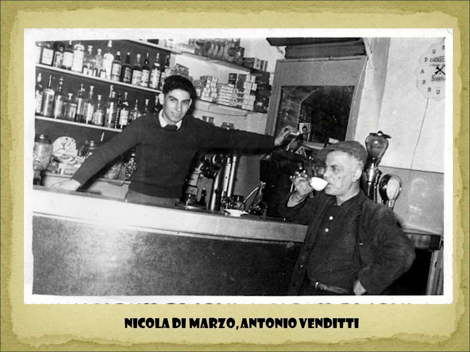 NICOLA DI MARZO, ANTONIO VENDITTI