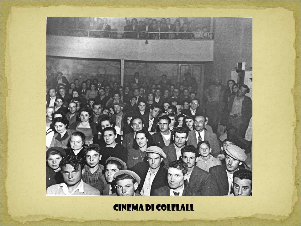 CINEMA DI COLELALL