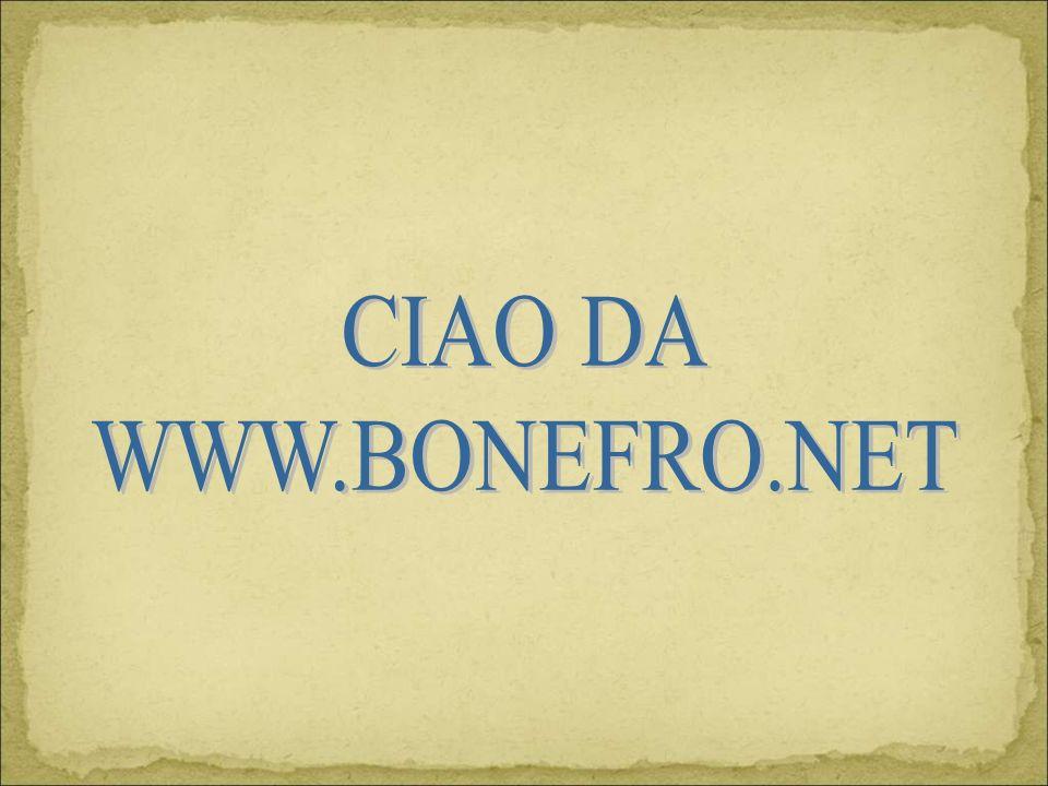 CIAO DA WWW.BONEFRO.NET