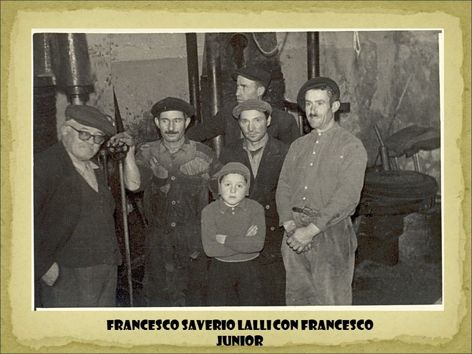 Francesco Saverio Lalli con Francesco junior