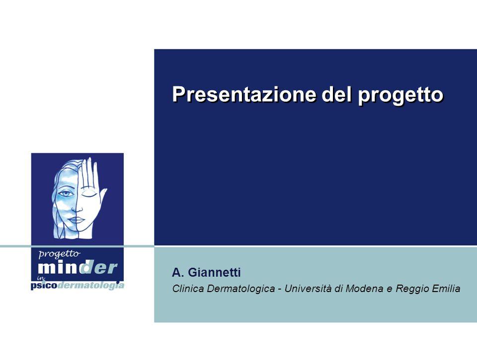 Presentazione del progetto