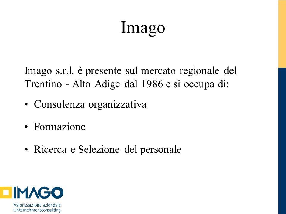 Imago Imago s.r.l. è presente sul mercato regionale del Trentino - Alto Adige dal 1986 e si occupa di: