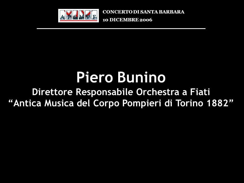 Piero Bunino Direttore Responsabile Orchestra a Fiati