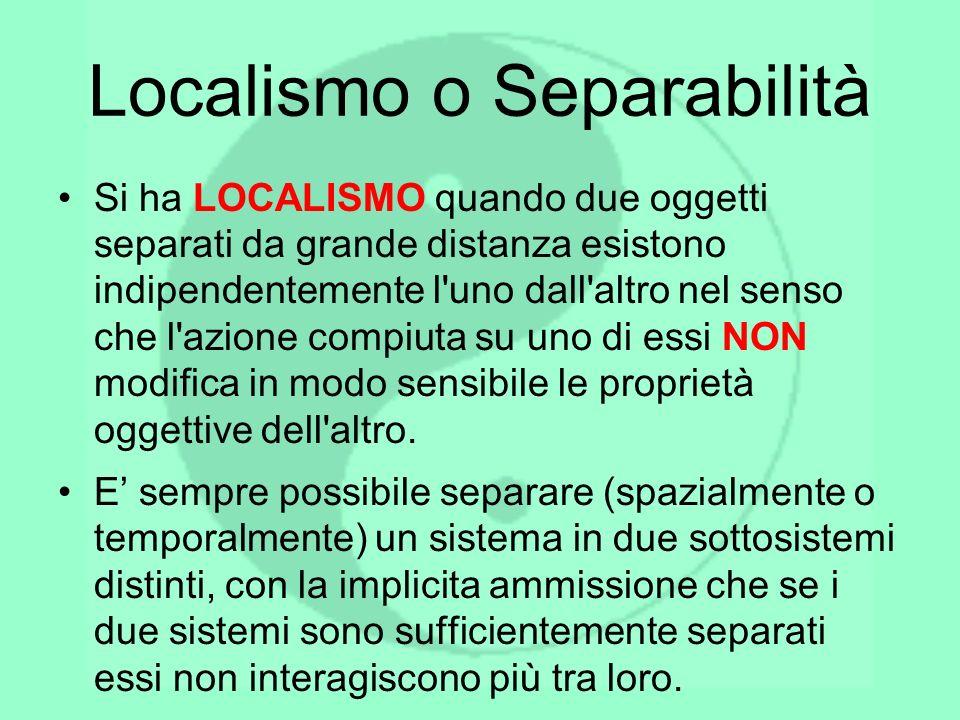 Localismo o Separabilità