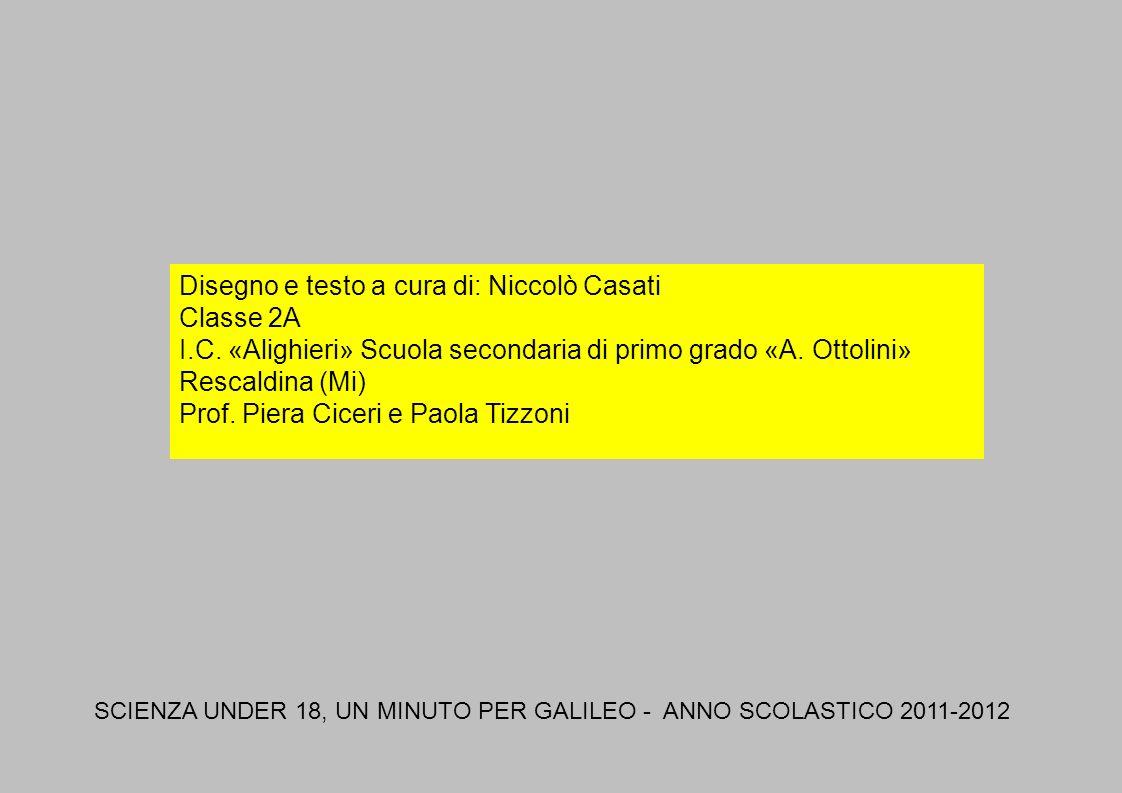 Disegno e testo a cura di: Niccolò Casati Classe 2A