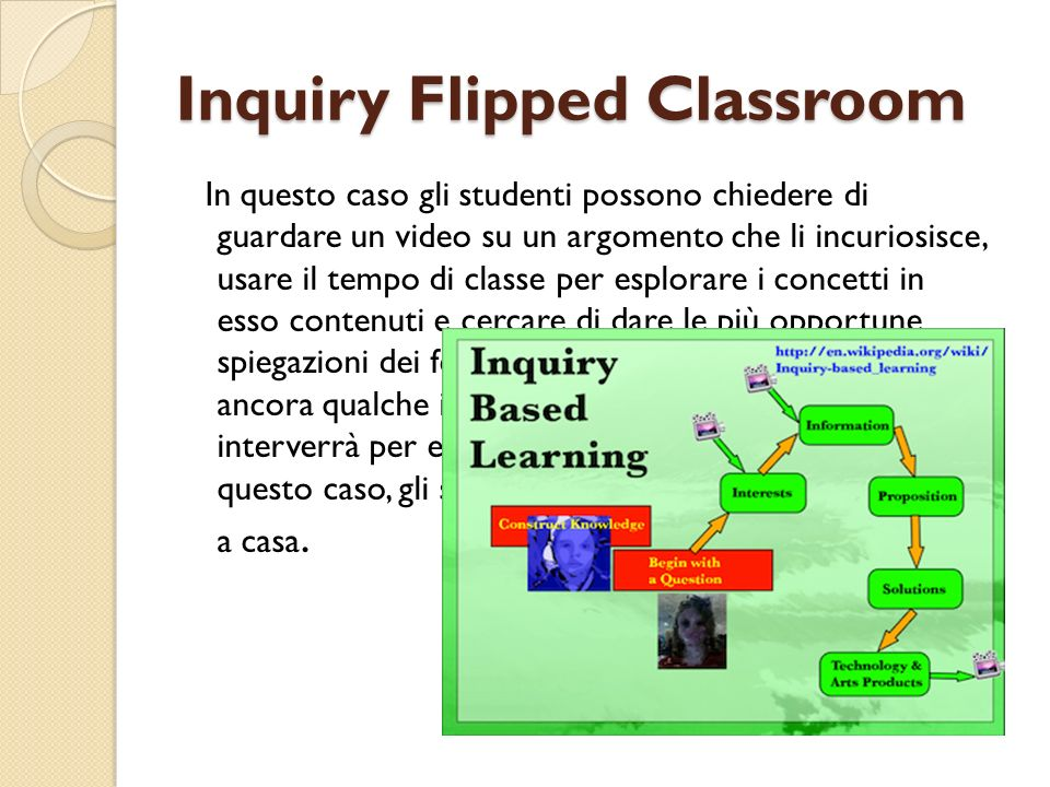 Inquiry Flipped Classroom