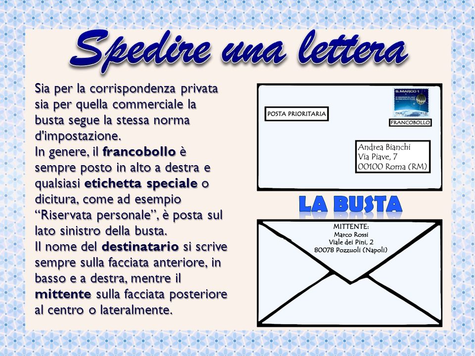 abbastanza La lettera personale La lettera è una comunicazione scritta tra un  IZ82