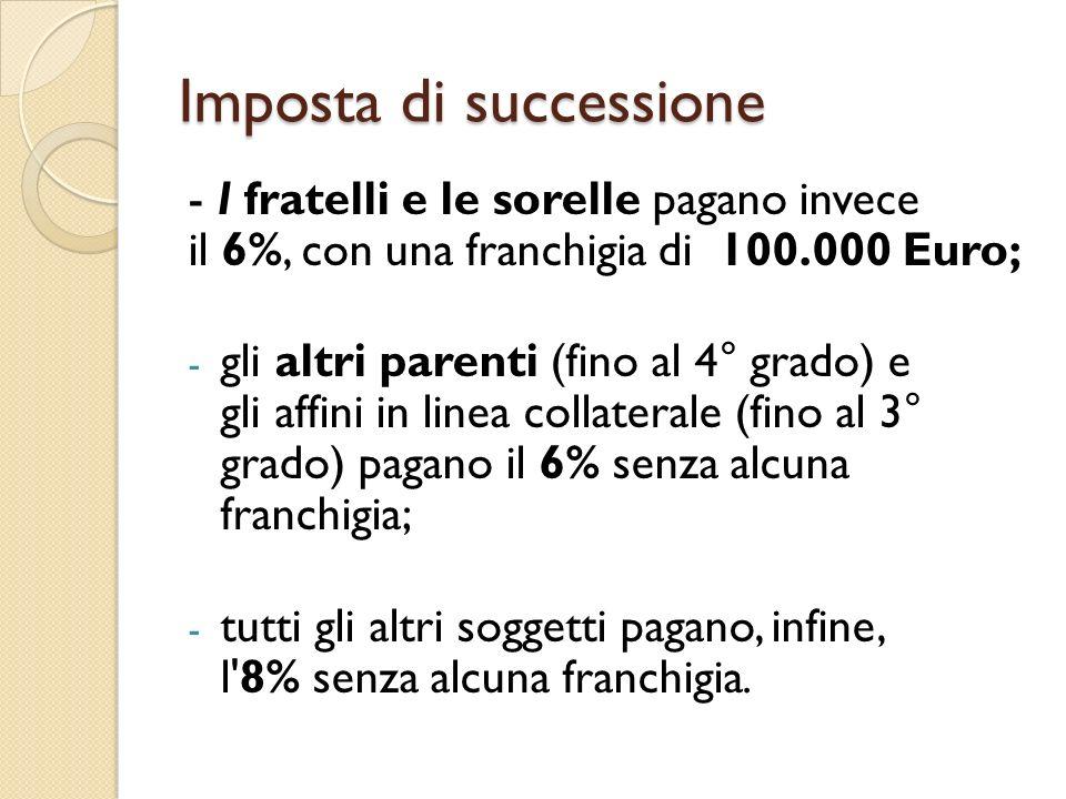 Wonderful Imposta Di Successione With Quando Si Paga La Tassa Di Successione.