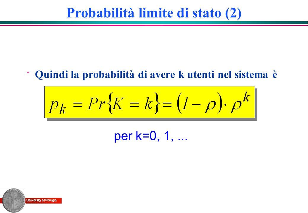 Probabilità limite di stato (2)