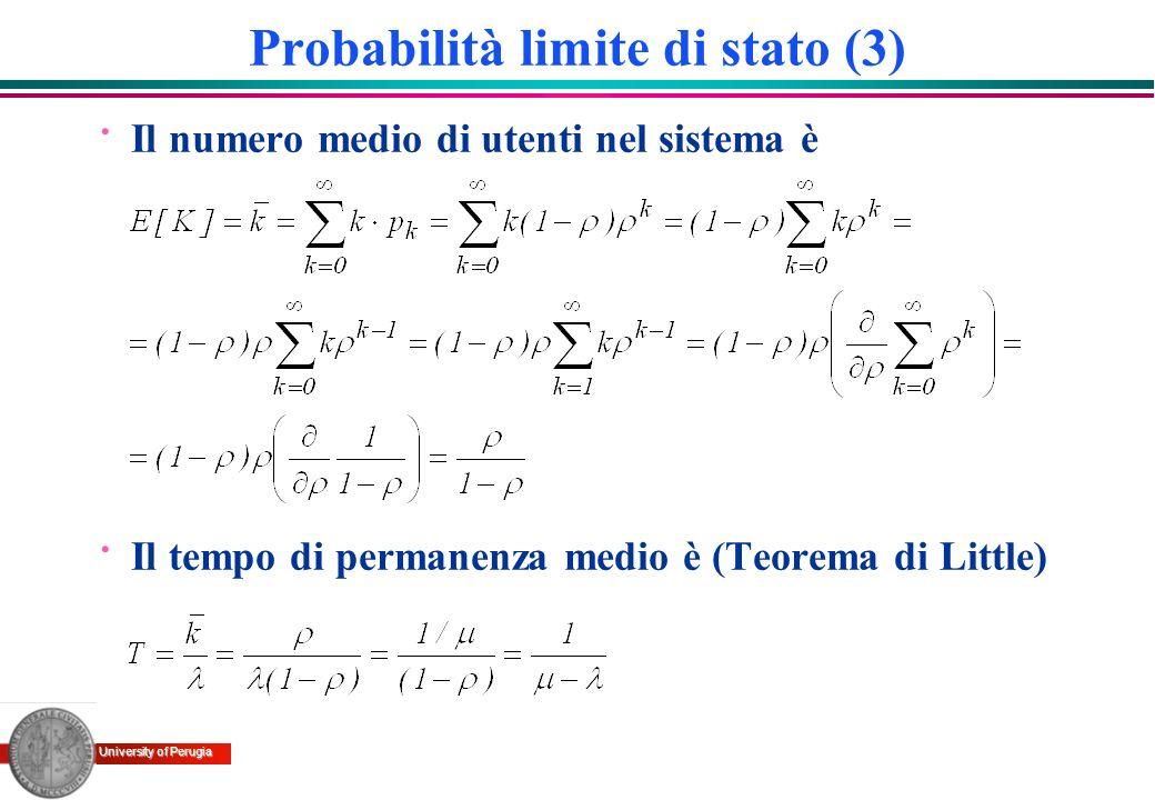 Probabilità limite di stato (3)