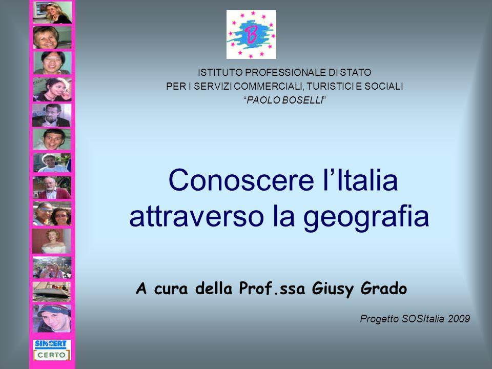 Conoscere l'Italia attraverso la geografia