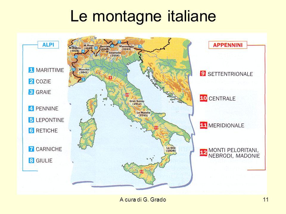 Le montagne italiane A cura di G. Grado