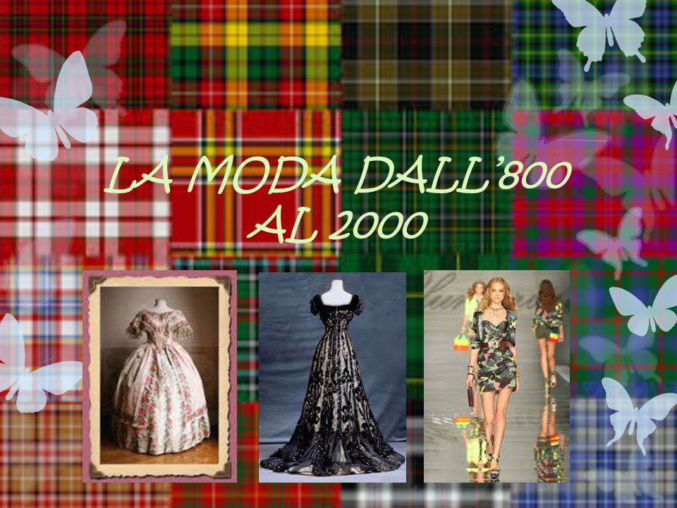 acd6ba986da4 LA MODA DALL 800 AL ppt video online scaricare