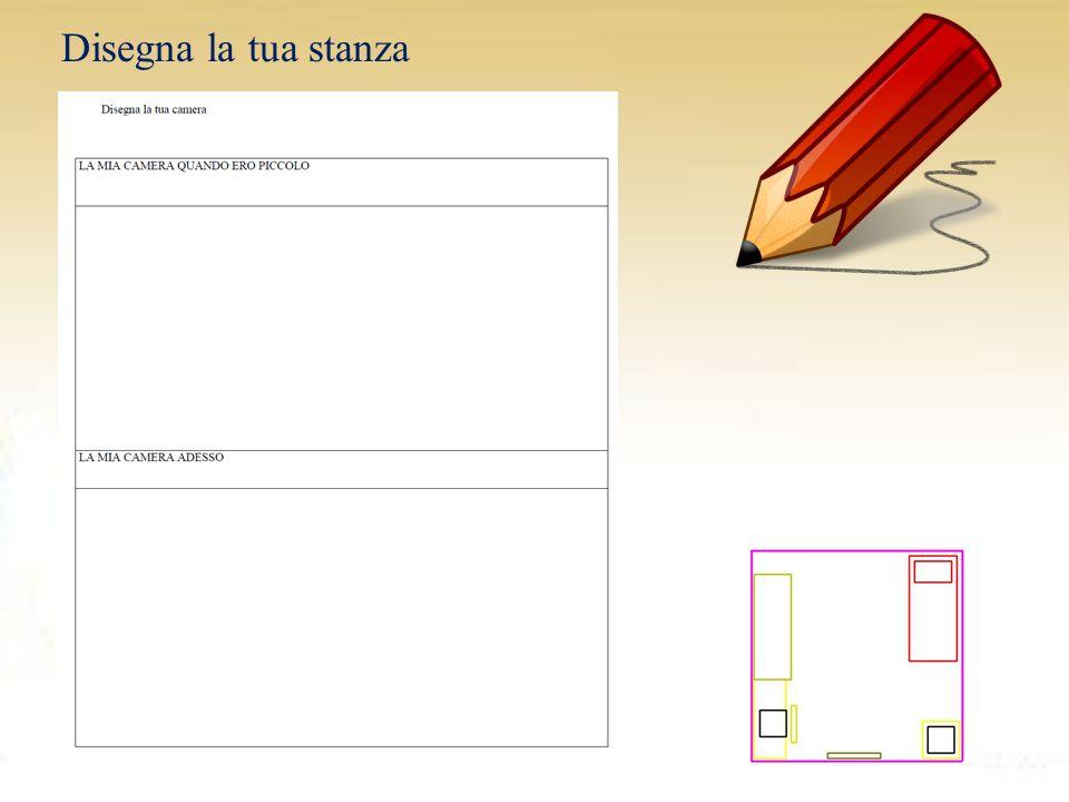 Disegna la tua stanza