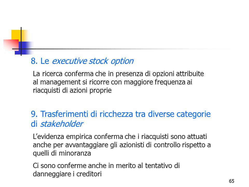 Differenza tra azioni e stock options