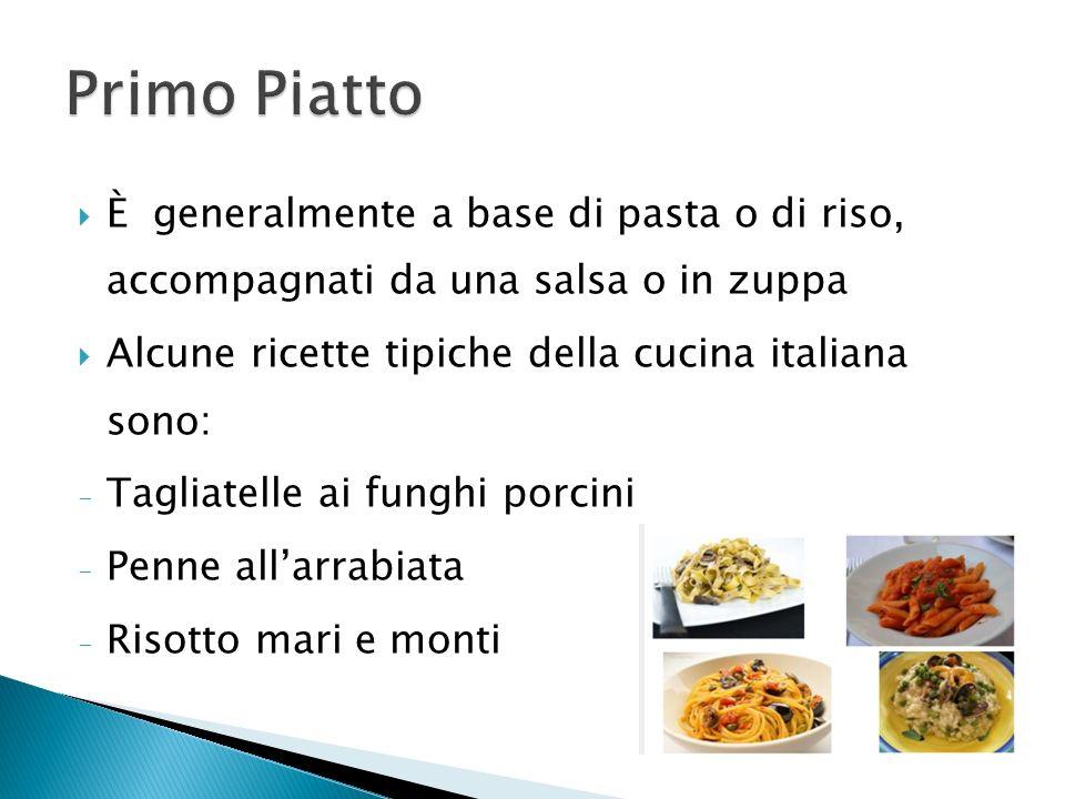 I pasti italiani ppt scaricare for Una salsa da cucina cinese