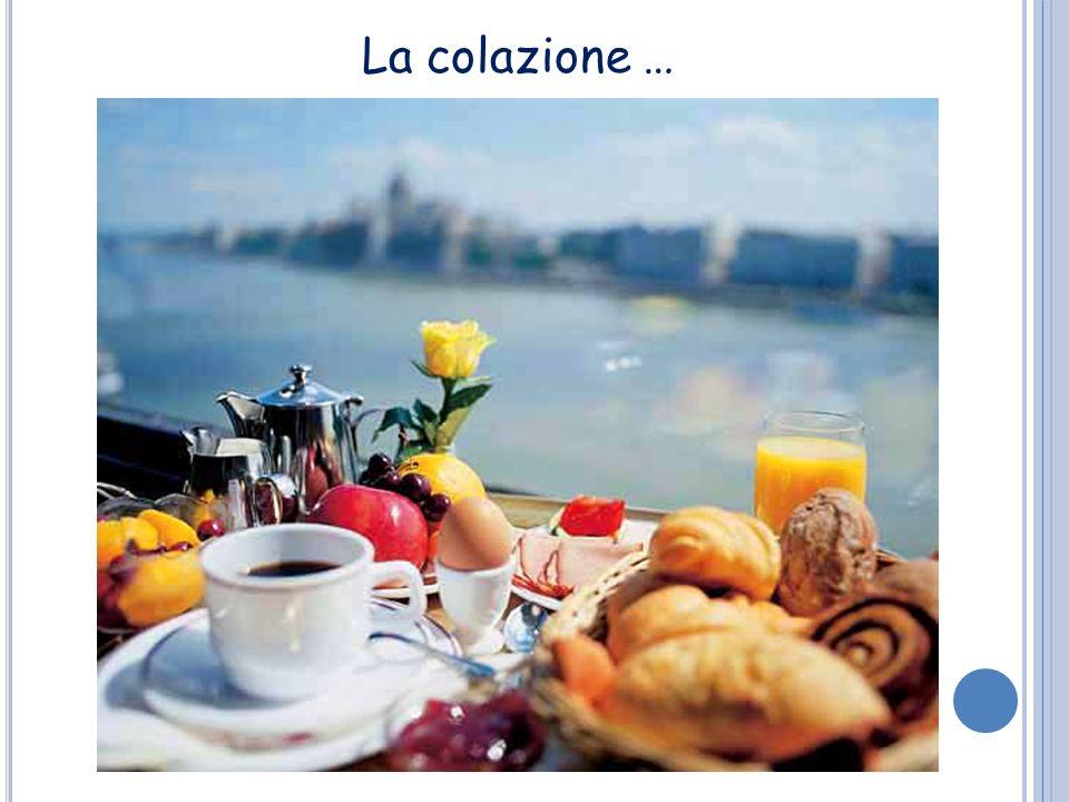 La colazione …