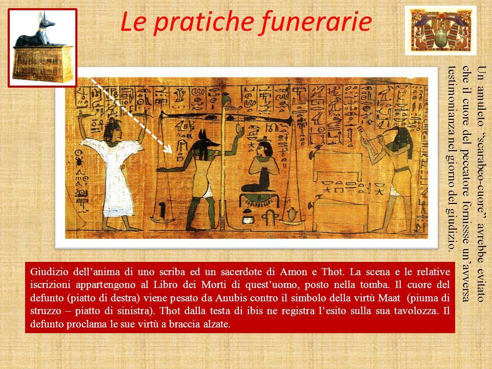 Le pratiche funerarie
