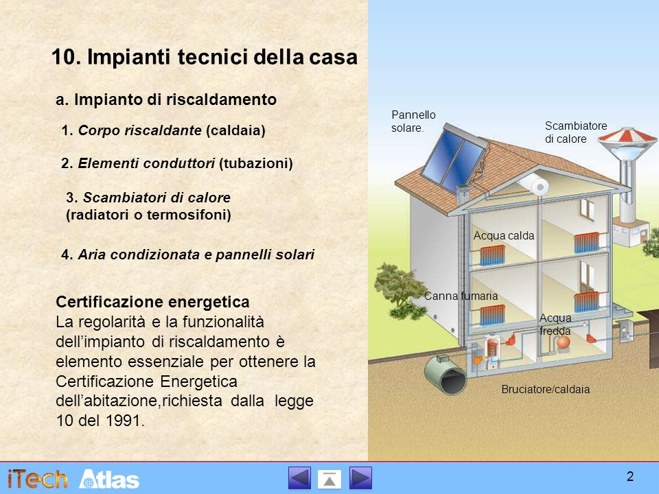 Impianti tecnici della casa ppt video online scaricare - Certificazione impianti casa ...