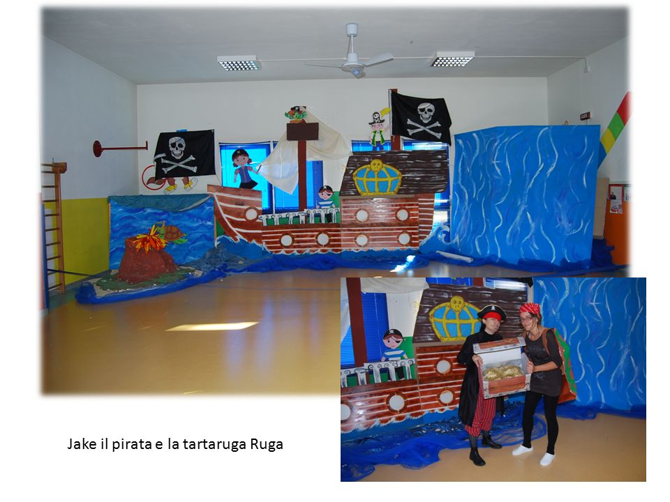 Jake il pirata e la tartaruga Ruga