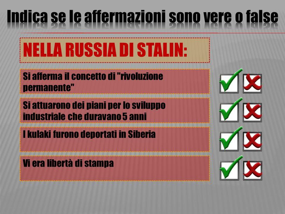 I totalitarismi la russia di stalin ppt scaricare for Concetto aperto di piani coloniali