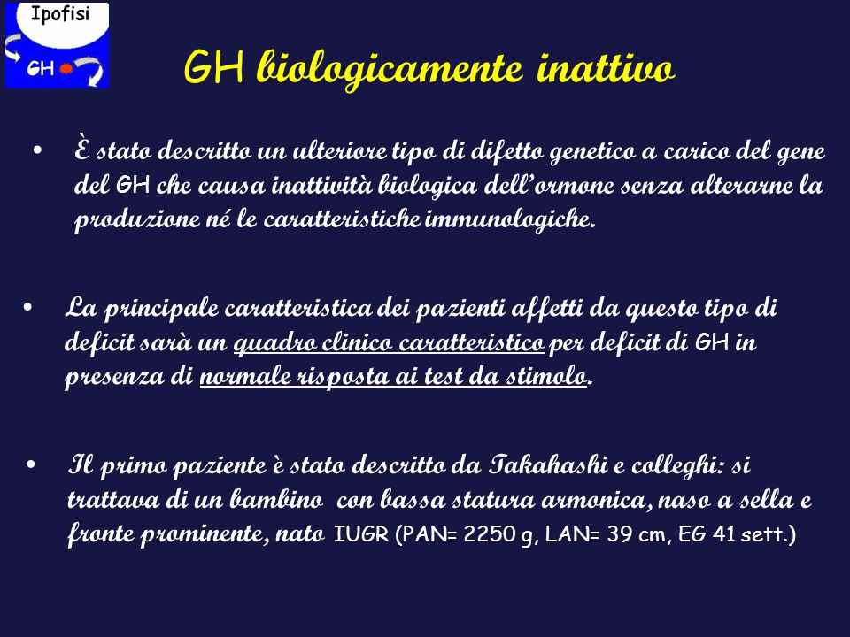 GH biologicamente inattivo