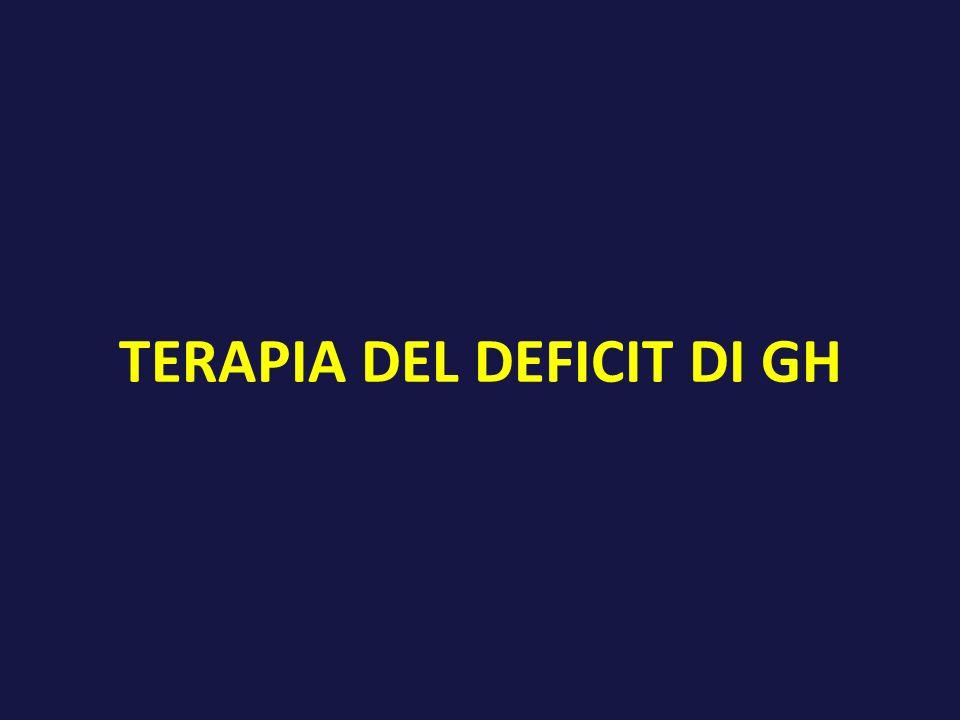 TERAPIA DEL DEFICIT DI GH
