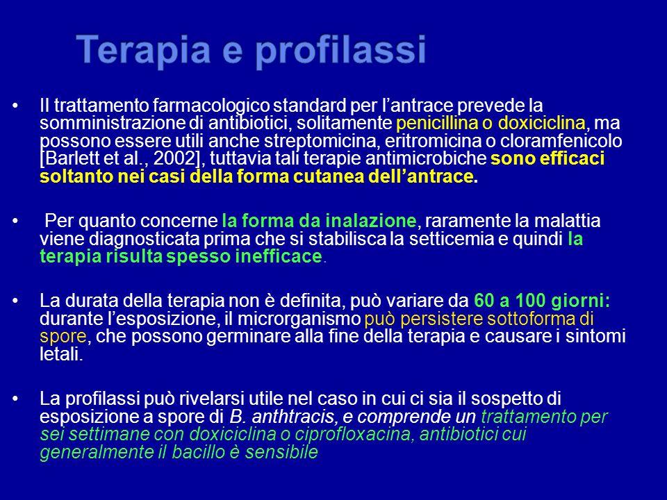 Terapia e profilassi