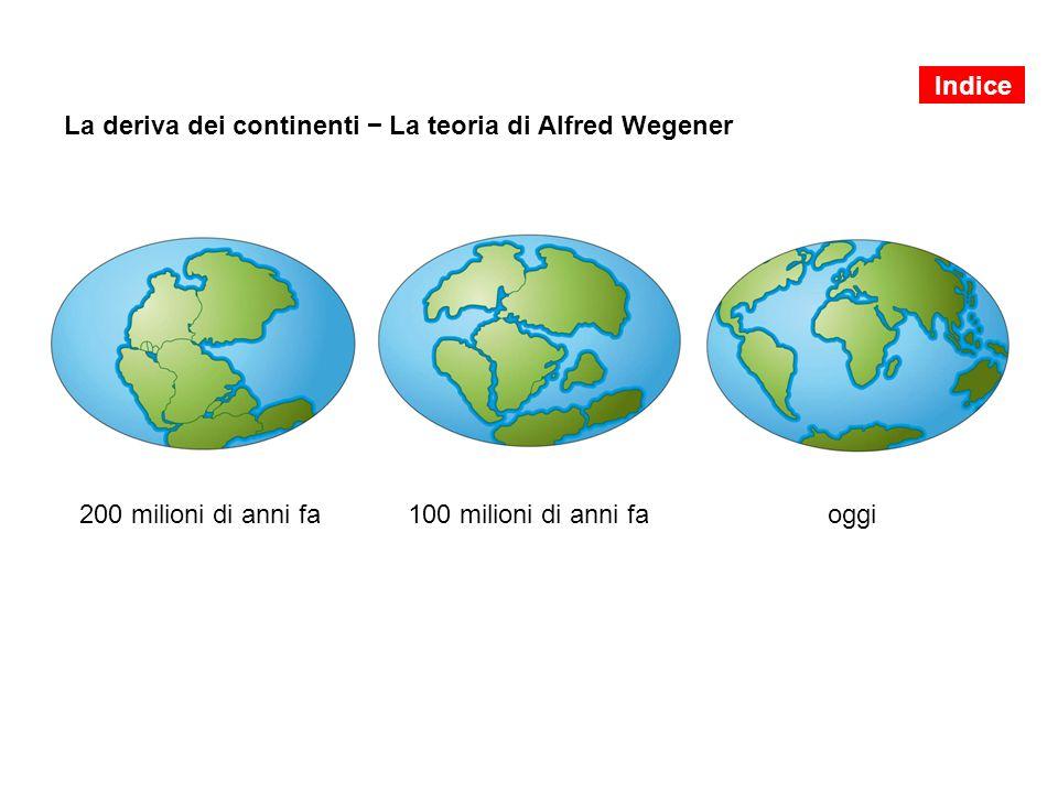 La deriva dei continenti − La teoria di Alfred Wegener