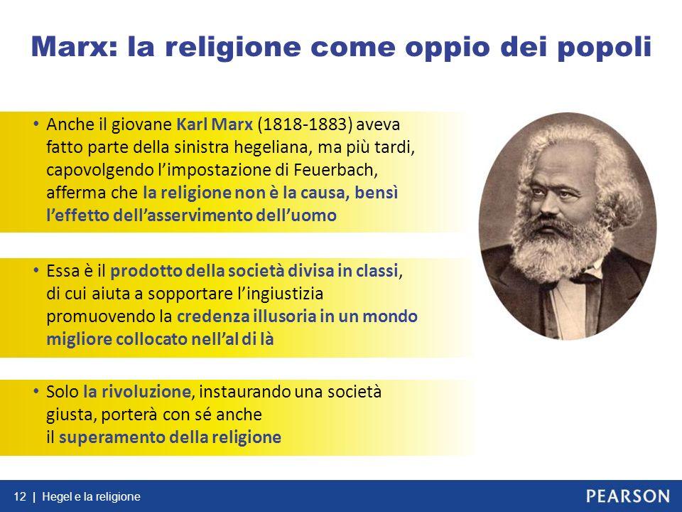 Marx: la religione come oppio dei popoli