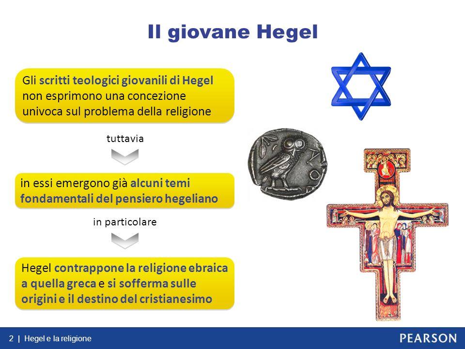 Il giovane Hegel Gli scritti teologici giovanili di Hegel non esprimono una concezione univoca sul problema della religione.