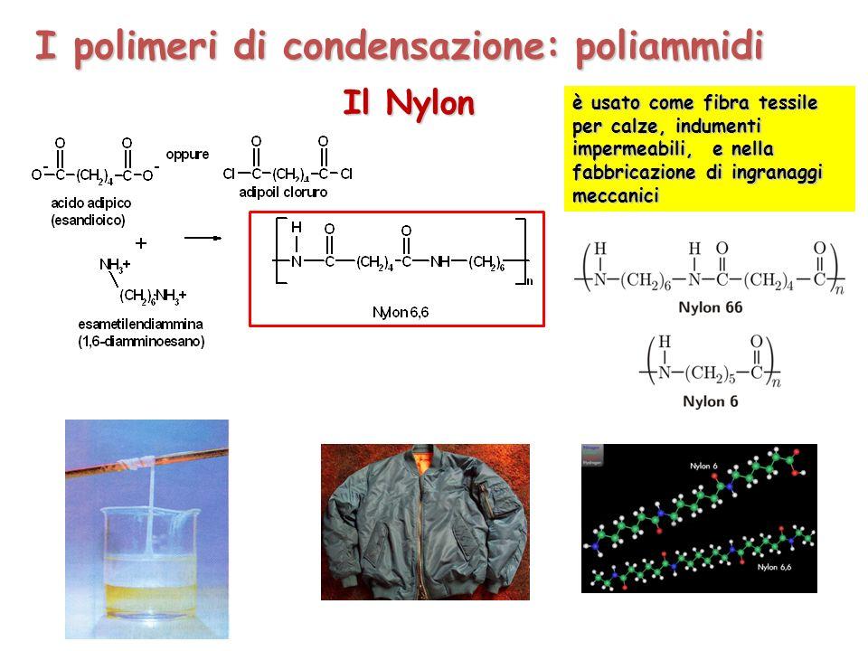 I polimeri di condensazione: poliammidi