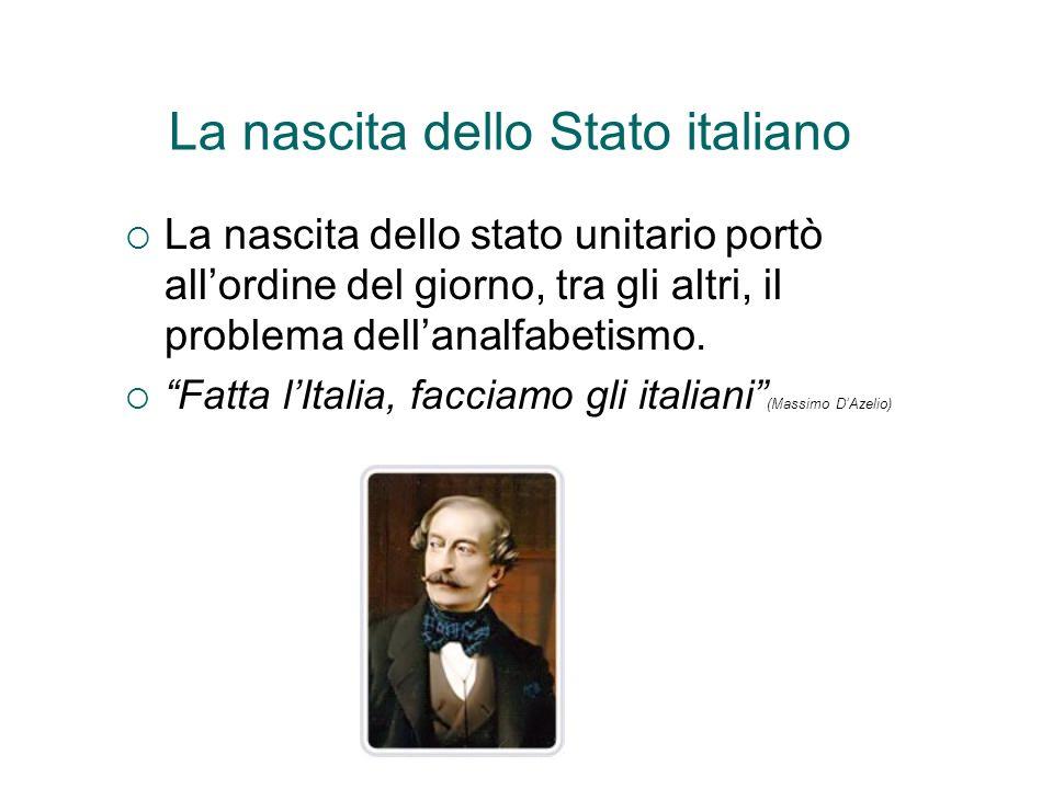 La nascita dello Stato italiano