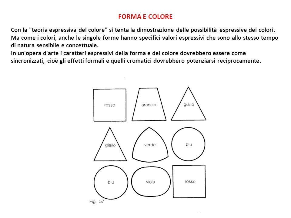FORMA E COLORE