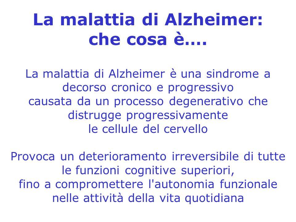 La malattia di Alzheimer: