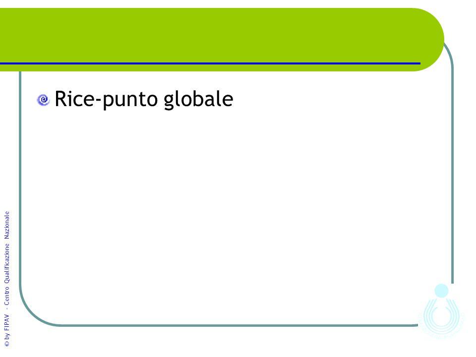 Rice-punto globale