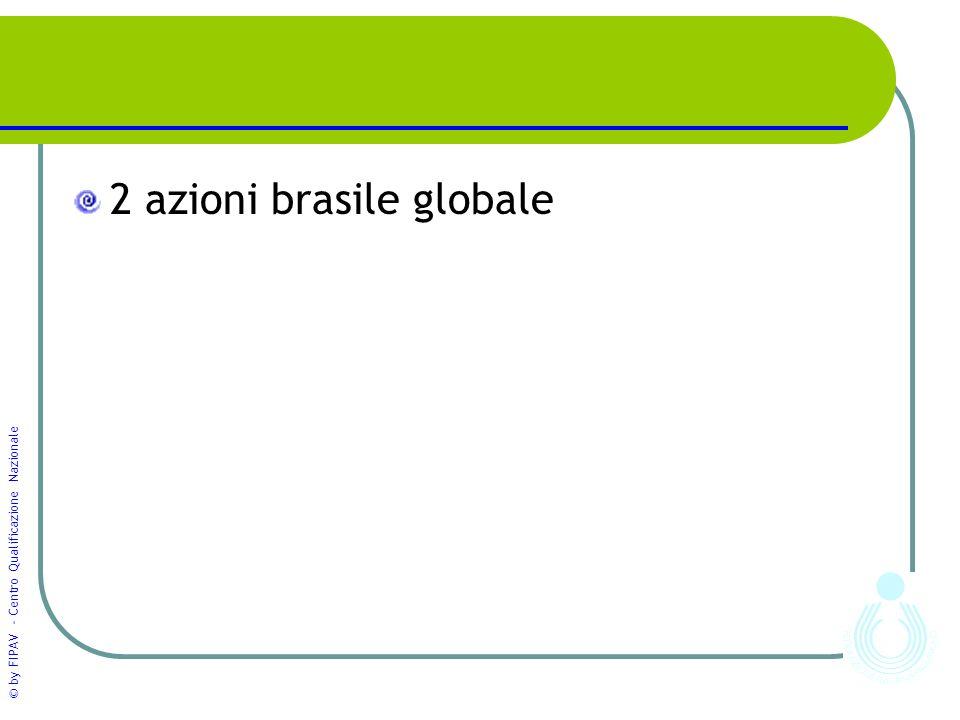 2 azioni brasile globale